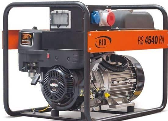 גנרטור RS 7540 PAE